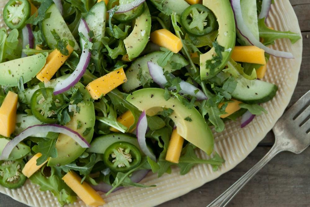 How to Make A Cucumber Avocado Salad