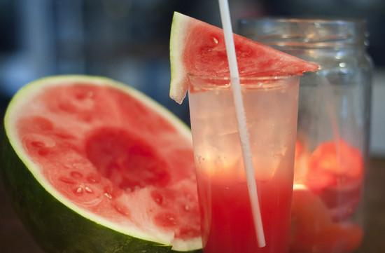 Vodka with Watermelon
