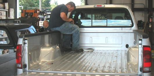 Installing a Truck Canopy