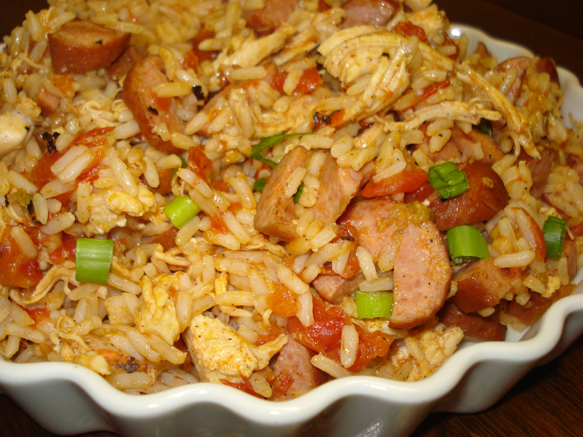If you are tired of eating typical salads, Jambalaya Salad is the one ...