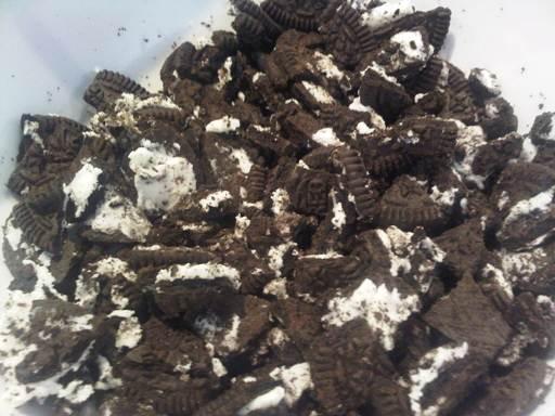 Crush Oreo Cookies