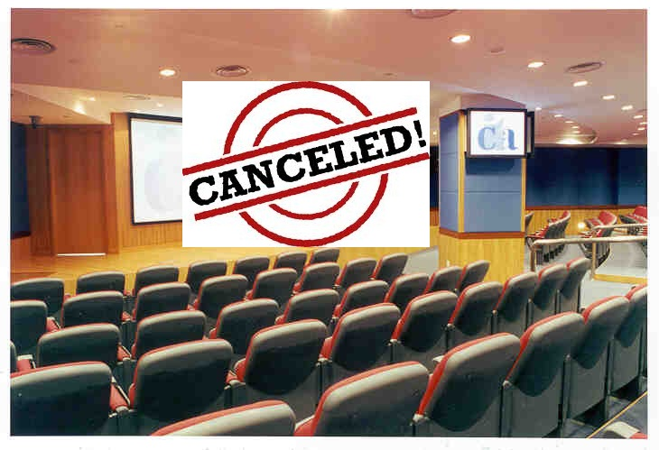 Seminar Cancellation Letter
