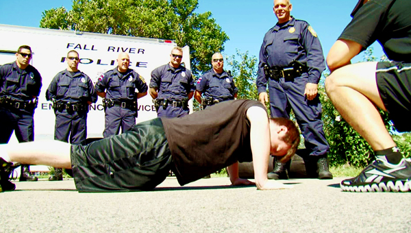 how to get in shape for police physical exam