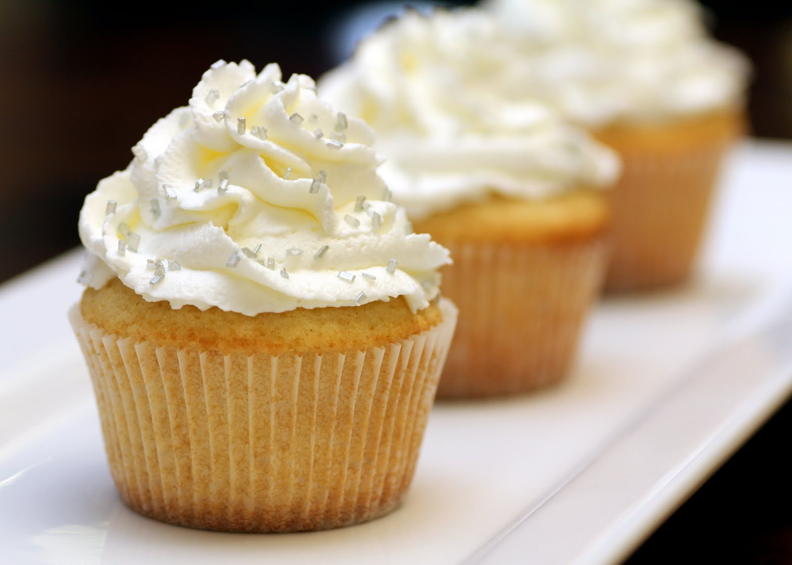 Vanilla Cupcakes Recipe — Dishmaps