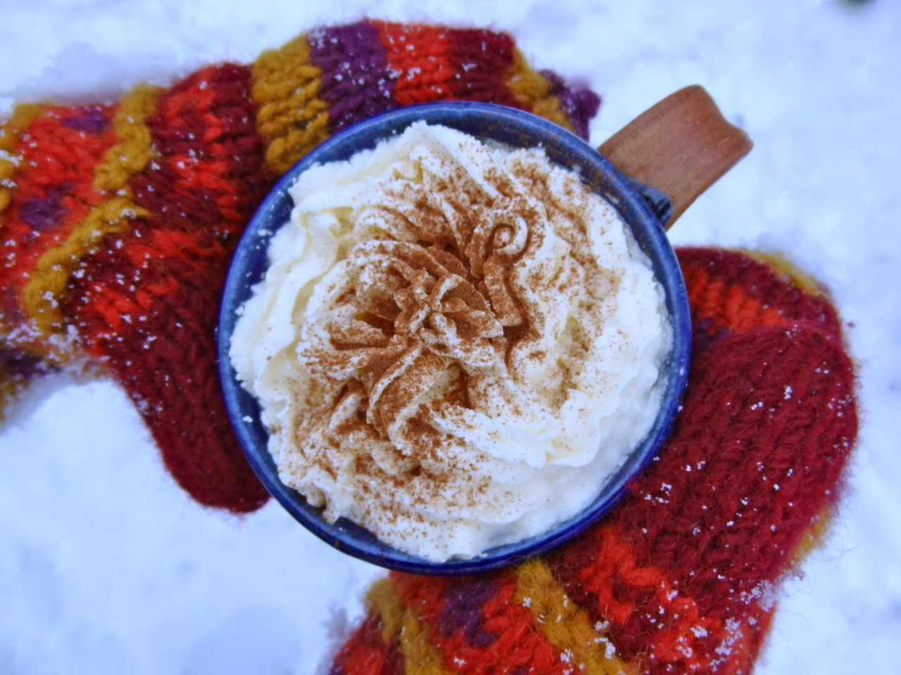 Winter Hot Buttered Rum Coffee