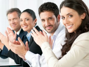employees happy after success
