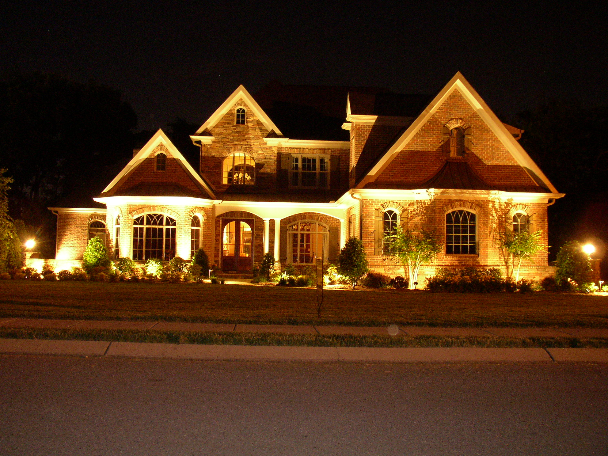 how to install exterior lighting