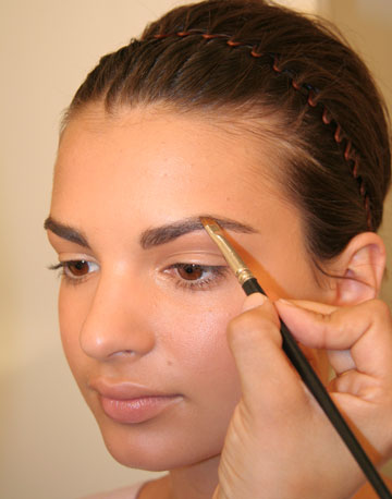 How To Color Eyebrows with Eye shadow