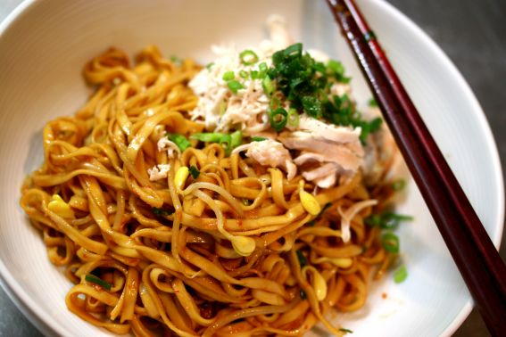 Asian Noodles with Mince Meat Recipe