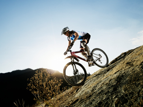 Mountain Bike Downhill Safely