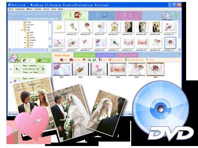 DVD photo slideshow with audio