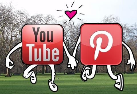 Pinterest loves YouTube