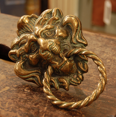 Antique Brass at Home