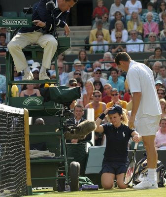 Ball boy at Wimbledon