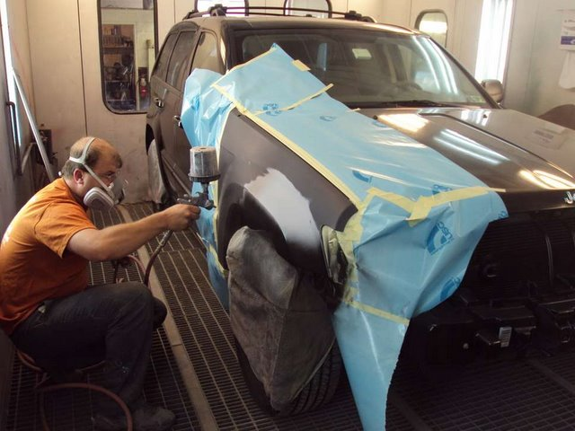 Auto Body Painter