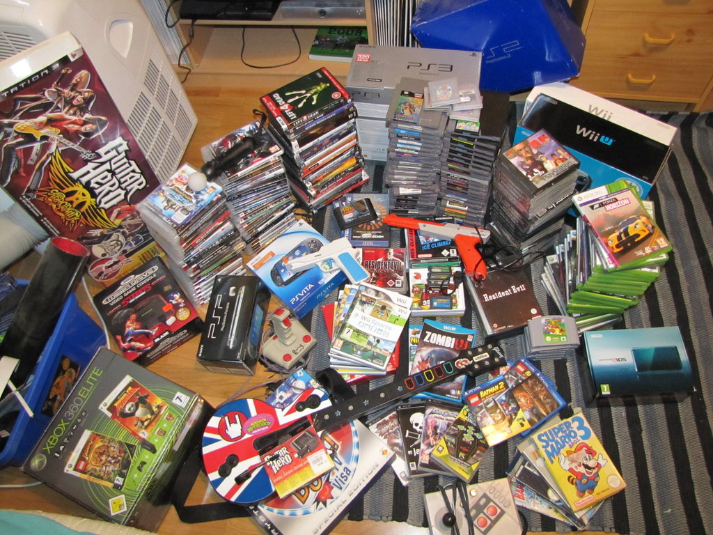 How To Build Up A Video Game Collection