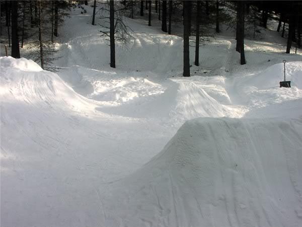 How to Build a Backyard Snowboard Park