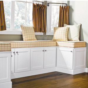 How to build a bay window seat with storage - How to build bay window bench ...