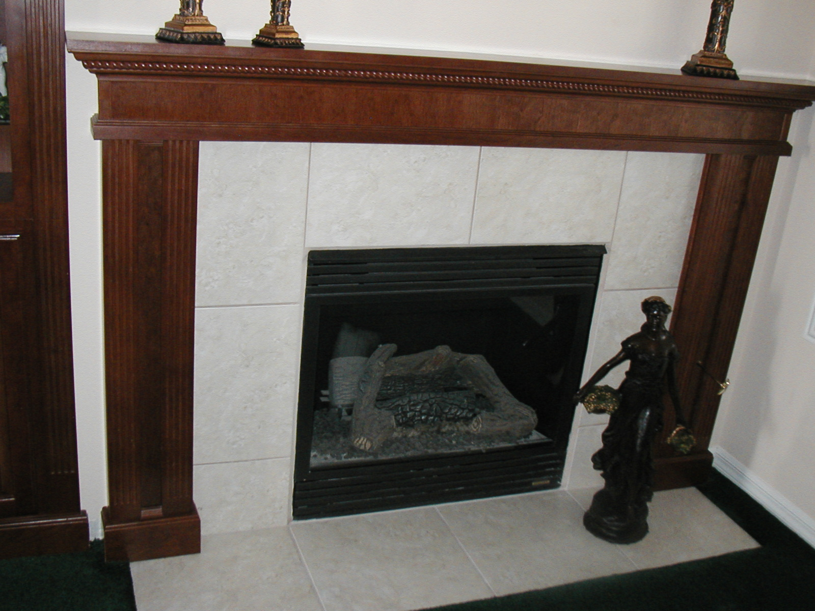 Pics Photos - How To Build A Fireplace Mantel