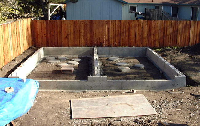 Build a Garage Foundation