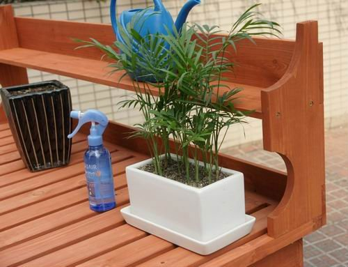 Potting Bench from Recycled Lumber