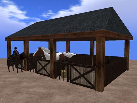 Build a Simple One Horse Barn