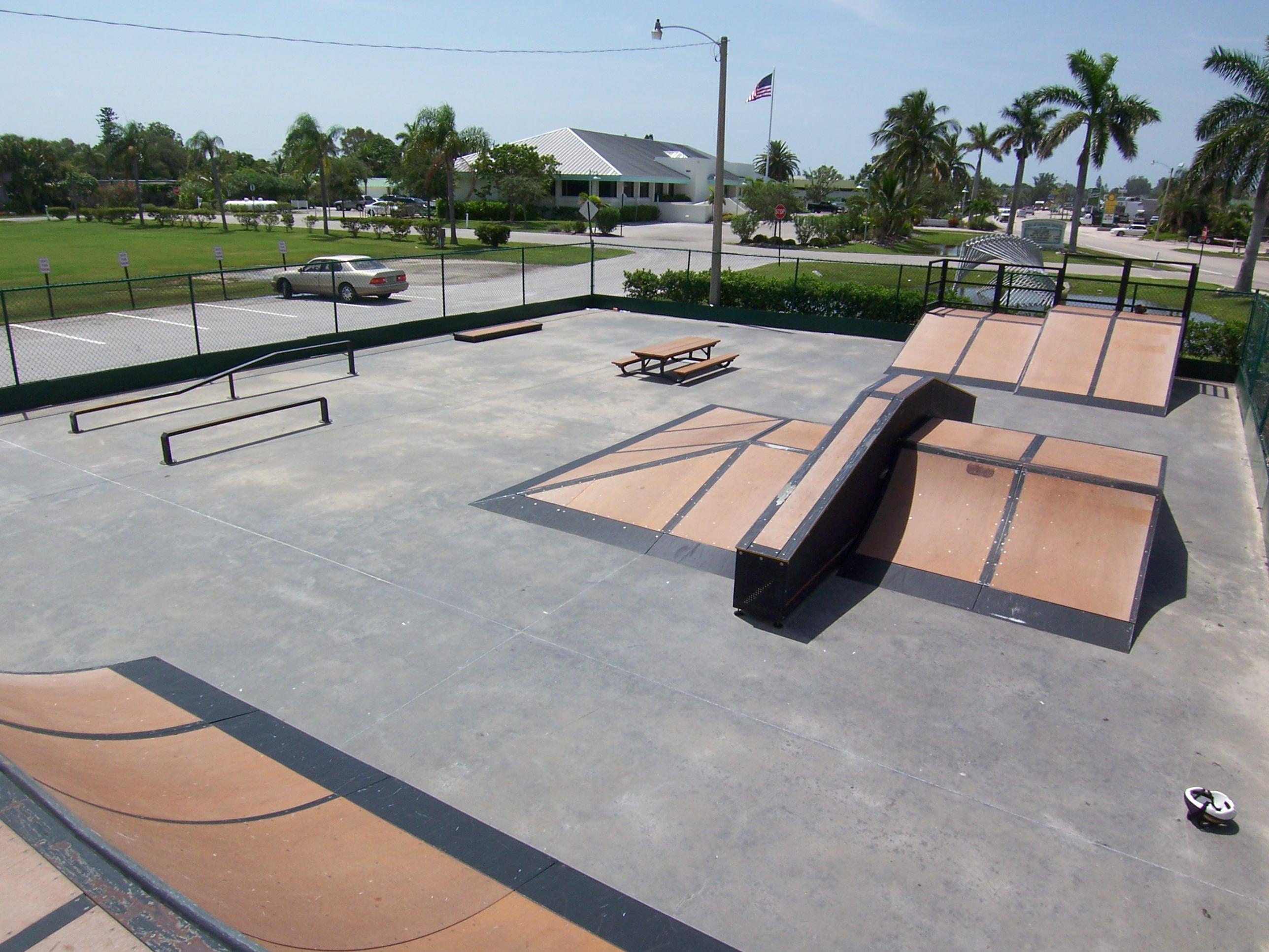 learn to build a skateboard park