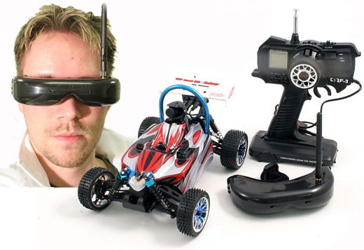 How to Build a Small Wireless RC Video Camera Car