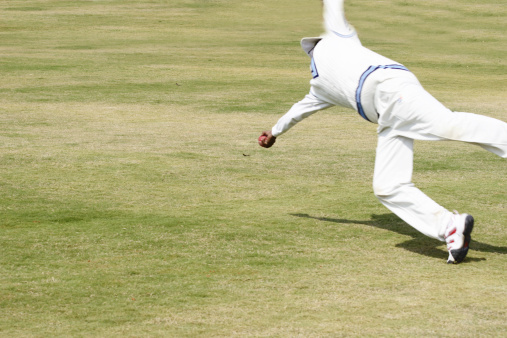 How To Catch A Cricket Ball Properly