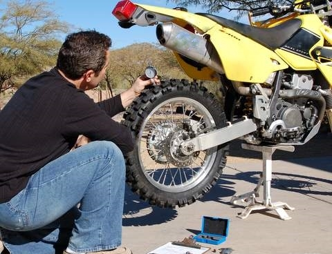 Changing Motorcycle Tires