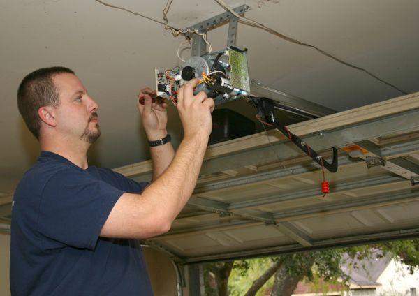 Checking Force Adjustment on Garage Doors
