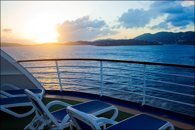How To Choose The Best Deck On A Cruise Ship