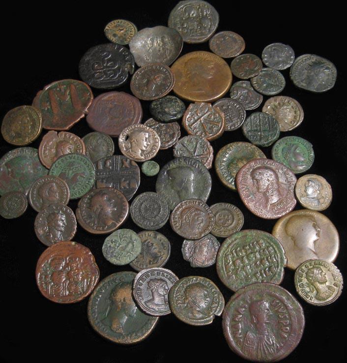 Clean Ancient Coins