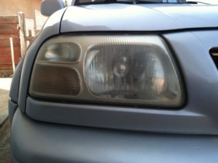 How to Clean Hazy Headlights on Car