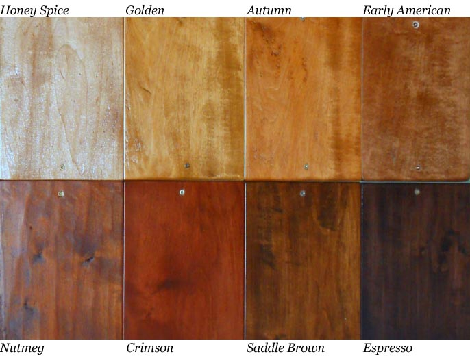 Natural Colored Stain