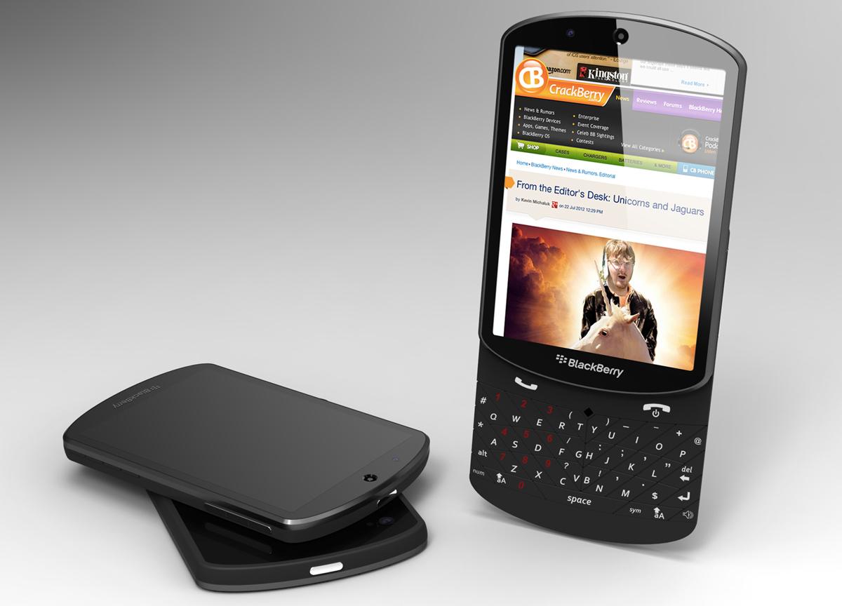 Blackberry makes it easy