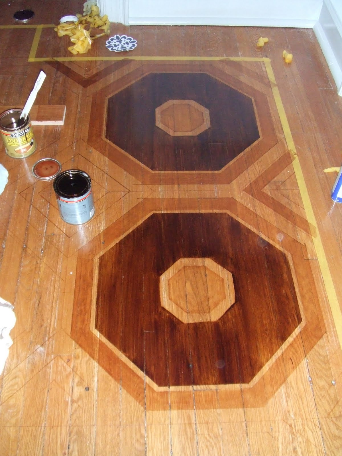 Faux Marquetry