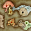 Mythical World Map