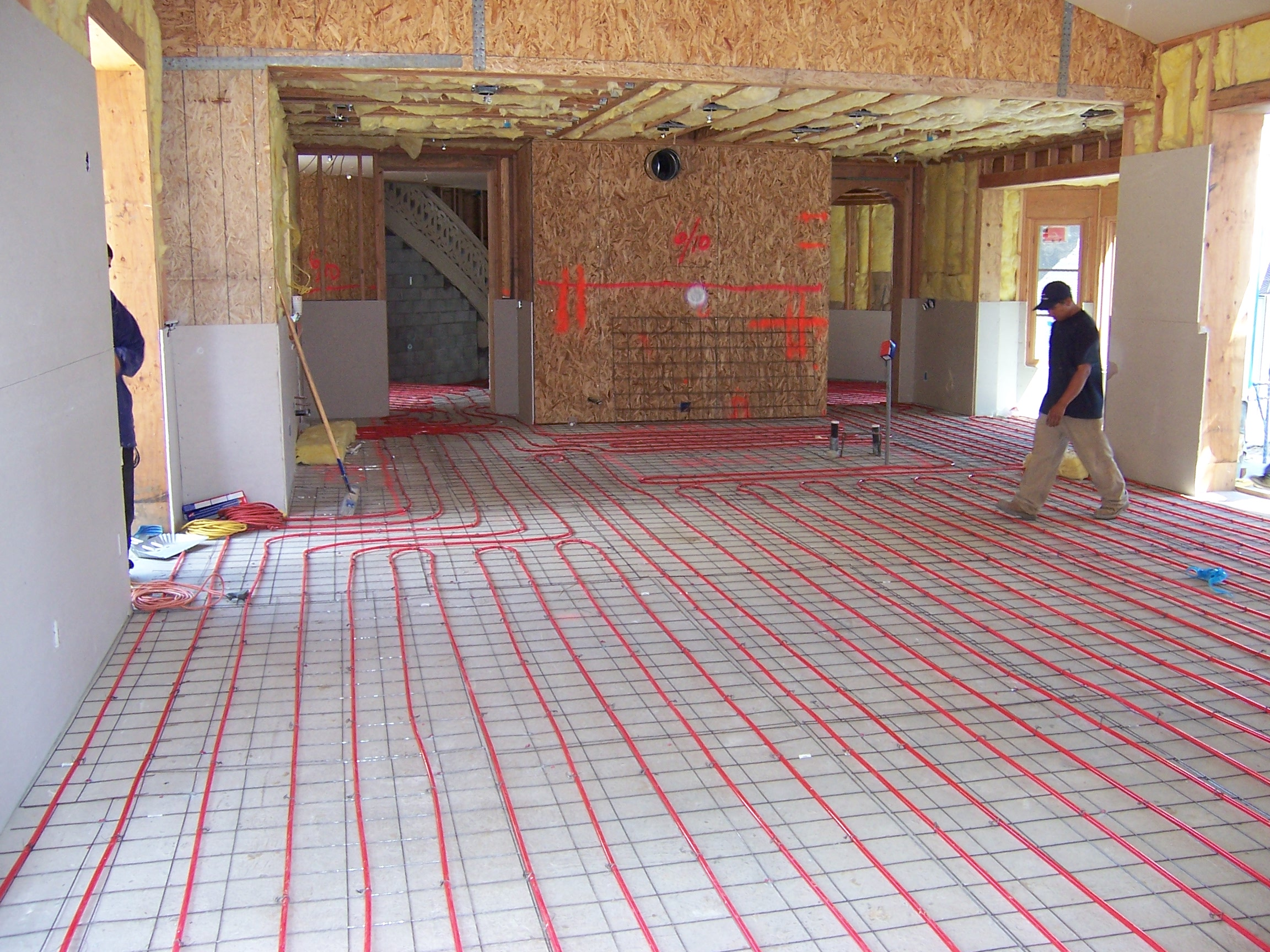 How To Install A Radiant Floor Heating System