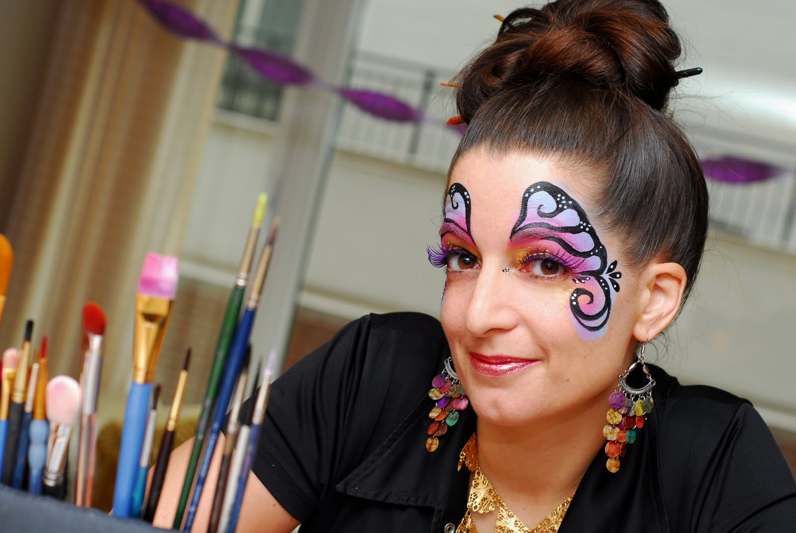 How to do face painting cheek art solutioingenieria Gallery