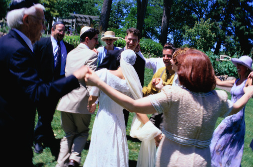 Circle Dance in a Wedding