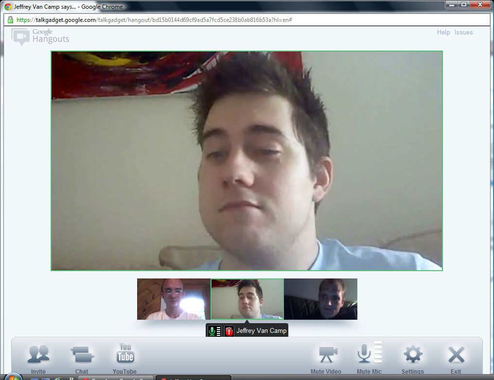 chat with video