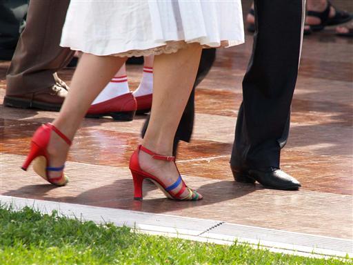 Grapevine Dance Step