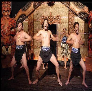 Doing the Haka Dance style