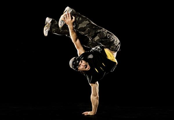 Quick Step Break Dancing Move