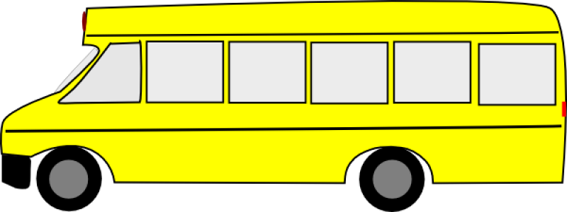 Steps For Buses : How to draw a bus for kids