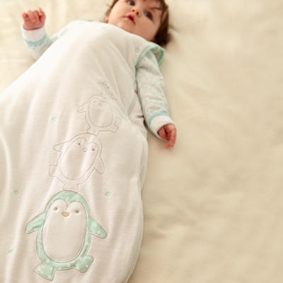 e2b1ba3395cf How to Dress a Baby for Bed in winter