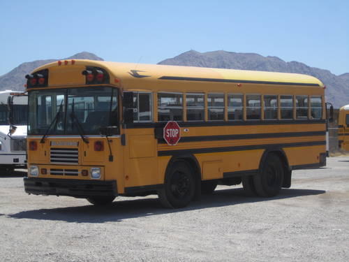 Drive a School Bus with Air Brakes