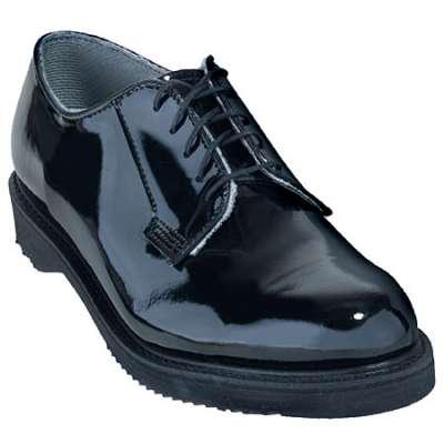 Dull a Shiny Black Shoe