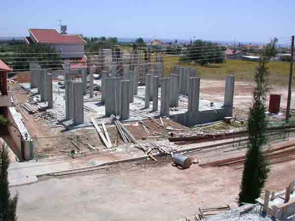 How to Erect a Concrete Column